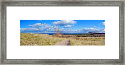 Dune Path To Glen Arbor Framed Print by Twenty Two North Photography