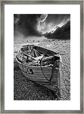 Dungeness Decay Framed Print by Meirion Matthias