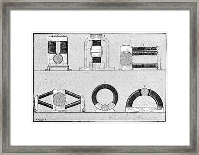 Dynamo Types, 19th Century Framed Print by