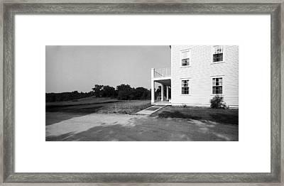 Eagle Frame House Framed Print by Jan W Faul