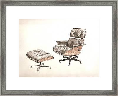 Eames Original Framed Print by Brian Ashby