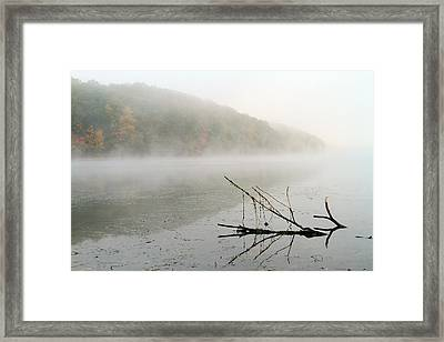 Early Autumn Morn Framed Print by Karol Livote