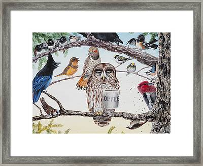 Early Birds Framed Print by Beth Davies