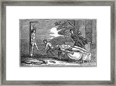 Early Christian Martyrs Framed Print by Granger