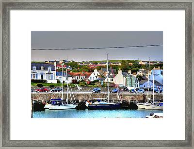 Early Evening Framed Print by Barry R Jones Jr