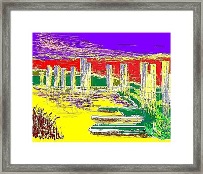 Early Morning Framed Print by Alberto Lacoius-Petruccelli