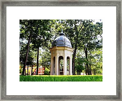East Carolina The Cupola Framed Print by Rob Goldberg