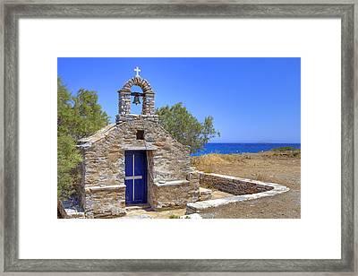 east coast Naxos Framed Print by Joana Kruse