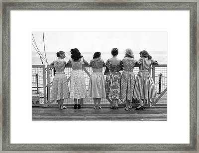 Eastbourne Pier Framed Print by Carl Sutton