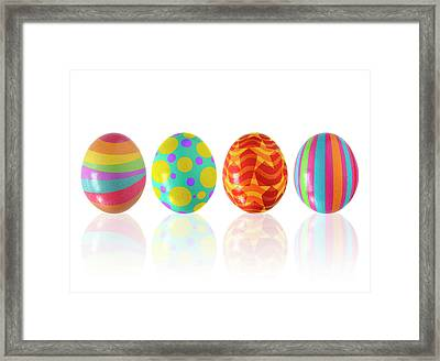 Easter Eggs Framed Print by Carlos Caetano