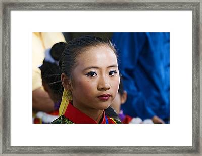 Eastern Dancer  Framed Print by Terry Finegan