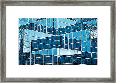 Eastern Michigan University 1142 Framed Print by Michael Peychich