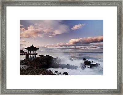 Eastern Sunset Framed Print by Leigh MacArthur