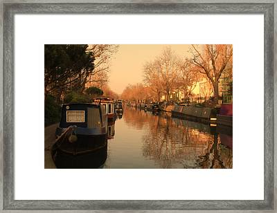 Easy Afternoon Framed Print by Jasna Buncic
