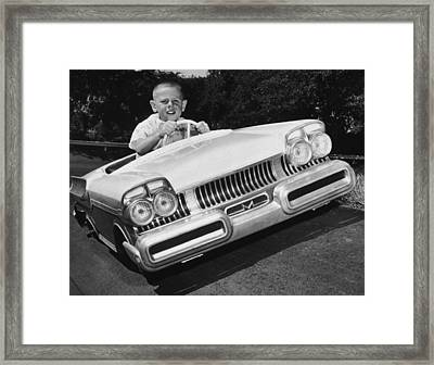 Easy Driver Framed Print by Archive Photos