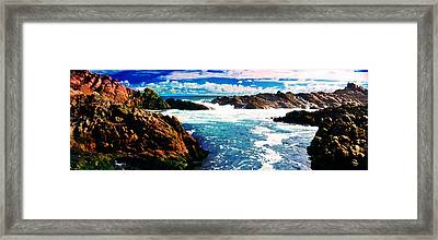 Ebbing Tide Framed Print by Phill Petrovic