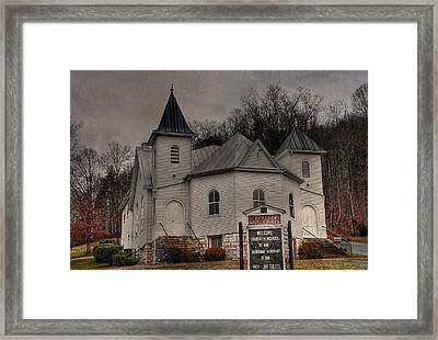 Ebenezer Arp Church Framed Print by Todd Hostetter