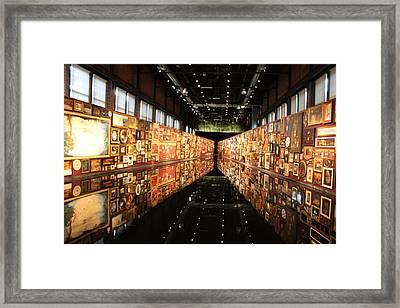 Ech2o Framed Print by Pat Purdy