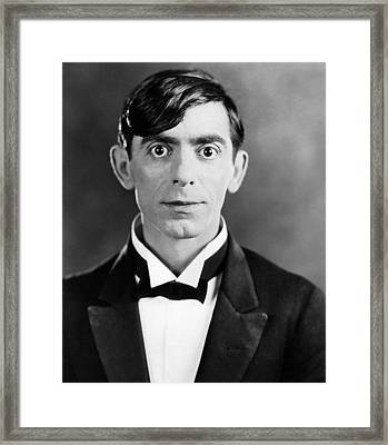 Eddie Cantor, 1927 Framed Print by Everett