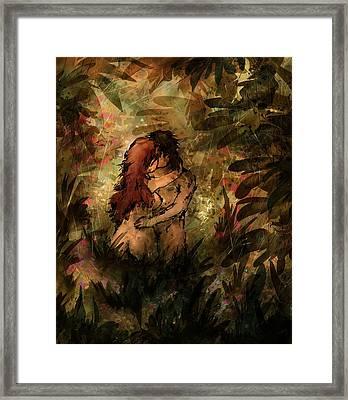 Eden Framed Print by Rachel Christine Nowicki