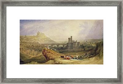 Edinburgh Framed Print by Thomas Brabazon Aylmer