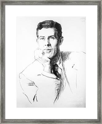 Edmund Clerihew Bentley Framed Print by Granger