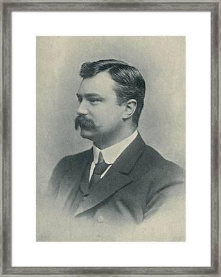 Edmund Dene Morel 1873-1924, British Framed Print by Everett