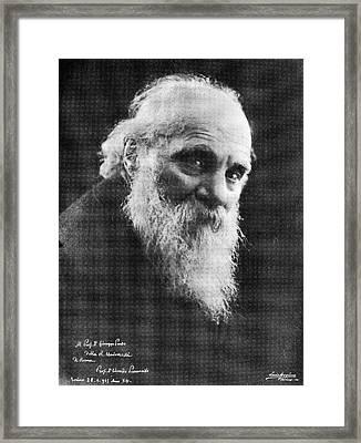 Edoardo Perroncito, Italian Physician Framed Print by