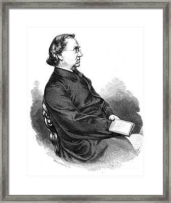 Eduard Moerike (1804-1875) Framed Print by Granger
