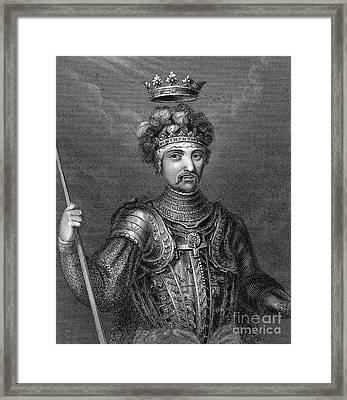 Edward (1330-1376) Framed Print by Granger