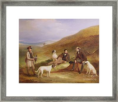 Edward Horner Reynard And His Brother George Framed Print by John E Ferneley