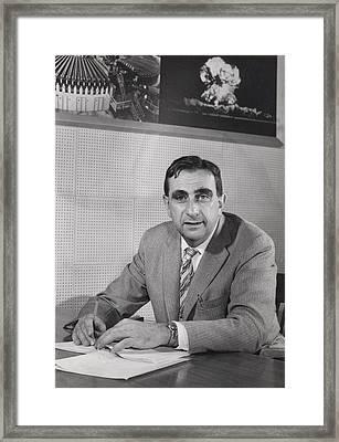 Edward Teller 1908-2003, In 1958 Framed Print by Everett