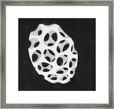Egg Drawing Mm9907 Framed Print by Phil Burns