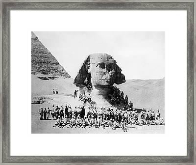 Egypt: Great Sphinx, 1882 Framed Print by Granger