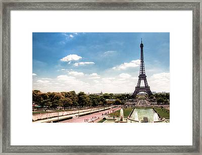 Eiffel Tower Framed Print by Photo by Stuart Gleave