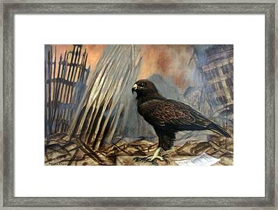 Either Peace Or War Framed Print by Sandra Chase