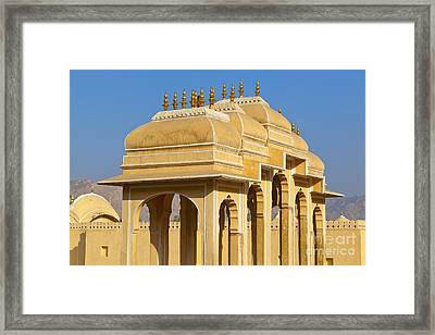 Elaborate Arch Structures In India Framed Print by Inti St. Clair