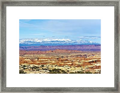Elecidations Of Echelons Of Epochs Framed Print by Scotts Scapes