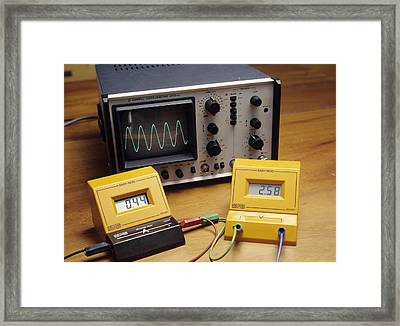 Electrical Equipment Framed Print by Andrew Lambert Photography