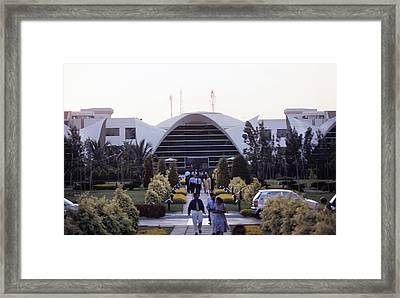 Electronics City, India Framed Print by Volker Steger