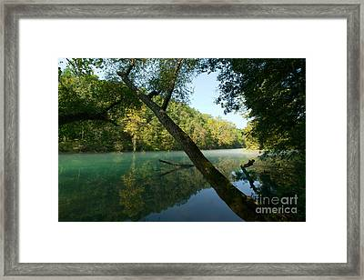 Eleven Point River Framed Print by Chris  Brewington Photography LLC