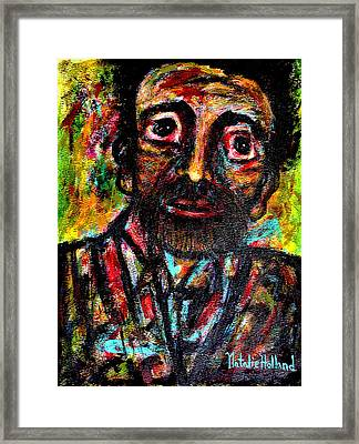 Eligible Bachelor Framed Print by Natalie Holland