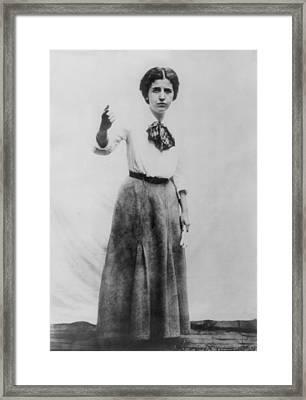 Elizabeth Gurley Flynn 1890-1964, Labor Framed Print by Everett
