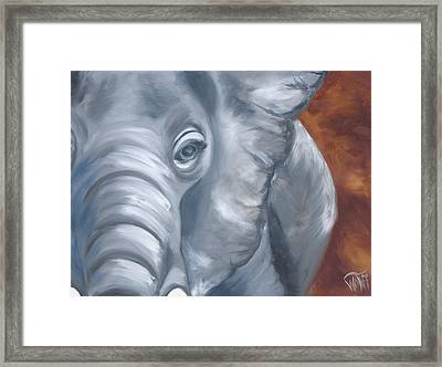 Ellie Framed Print by Thea Wolff