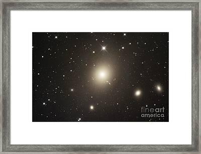 Elliptical Galaxy Messier 87 Framed Print by Robert Gendler