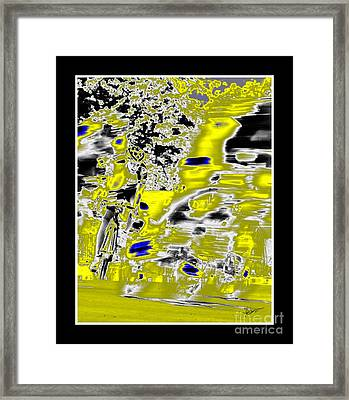 Emerge Framed Print by Vicki Pelham