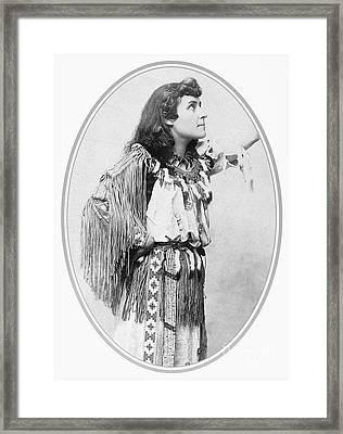 Emily Pauline Johnson Framed Print by Granger