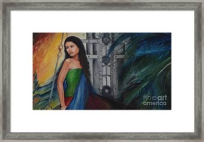 Emotions Framed Print by Tanuja Chopra
