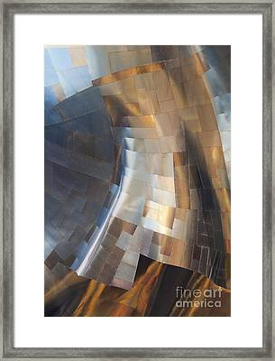 Emp Abstract Framed Print by Chris Dutton