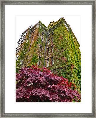 Empress Hotel - Victoria Canada - 02  Framed Print by Gregory Dyer